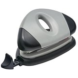 5 Star 2-Hole Punch / Silver / Punch capacity: 12 Sheets