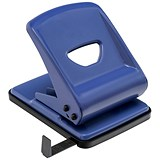 5 Star 2-Hole Punch / Blue / Punch capacity: 40 Sheets