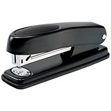 5 Star Half Strip Stapler / 20 Sheet Capacity / Takes 26/6 Staples / Black