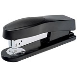 5 Star Half Strip Stapler / Top Loading / 25 Sheet Capacity / 26/6 Staples / Black