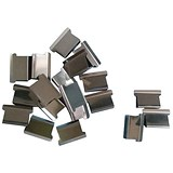 Image of 5 Star Ultra Clip 40 Refills / Steel / Box of 200