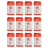 Image of 5 Star Batteries 9V/6LR61 / Pack of 12