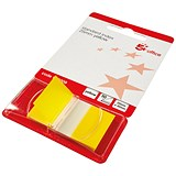 Image of 5 Star Standard Index Flags / 50 Sheets per Pad / 25x45mm / Yellow / Pack of 5