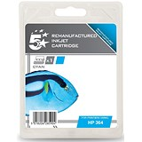 Image of 5 Star Compatible - Alternative to HP 364 Cyan Inkjet Cartridge