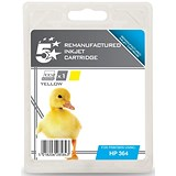 Image of 5 Star Compatible - Alternative to HP364 Yellow Inkjet Cartridge