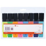 5 Star Highlighters / Assorted Colours / Pack of 8