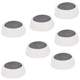 Image of 5 Star Plastic Magnets / 20mm / White / Pack of 10