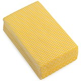 Image of 5 Star Cloths / Anti-microbial / Wavy Yellow / Pack of 50