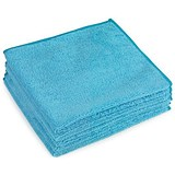 Image of 5 Star Premium Microfibre Cloth / Blue / Pack of 5