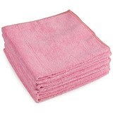 Image of 5 Star Premium Microfibre Cloth / Red / Pack of 5