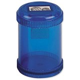 5 Star Pencil Sharpener / Plastic Canister / Pencil Diameter 8mm / 2 Hole / Pack of 10