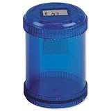 5 Star Pencil Sharpener / Plastic Canister / Pencil Diameter 8mm / 1 Hole / Pack of 10
