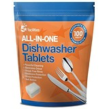 5 Star Facilities All-in-one Dishwasher Tablets - Pack of 100
