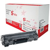 Image of 5 Star Compatible - Alternative to HP 83A Black Laser Toner Cartridge