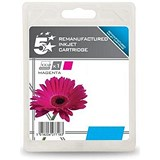 Image of 5 Star Office Compatible InkJet Cartridge Page Life 6600pp Magenta [HP No.971XL CN627AE Alternative]