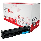 Image of 5 Star Compatible - Alternative to HP 201A Cyan Laser Toner Cartridge
