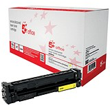 Image of 5 Star Compatible - Alternative to HP 201A Yellow Laser Toner Cartridge