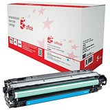 5 Star Compatible - Alternative to HP 650A Cyan Laser Toner Cartridge