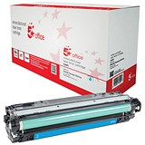 Image of 5 Star Compatible - Alternative to HP 307A Cyan Laser Toner Cartridge