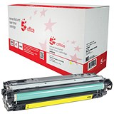 Image of 5 Star Compatible - Alternative to HP 307A Yellow Laser Toner Cartridge