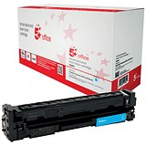 Image of 5 Star Compatible - Alternative to HP 201X Cyan Laser Toner Cartridge
