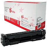 Image of 5 Star Compatible - Alternative to HP 201X Black Laser Toner Cartridge