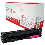 5 Star Compatible - Alternative to HP 201X Magenta Laser Toner Cartridge