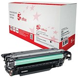 Image of 5 Star Compatible - Alternative to HP 507X Black Laser Toner Cartridge