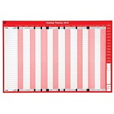 5 Star 2019 Holiday Planner / Unmounted / 915x610mm