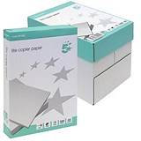 Image of 5 Star A4 Multifunctional Lite Paper / White / Box (5 x 500 Sheets)