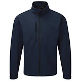 Soft Shell Jacket / Water Resistant / Breathable / XS / Navy