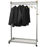Image of Alba Garment Coat Rack - Silver