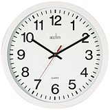Image of Acctim Controller 368mm White Wall Clock