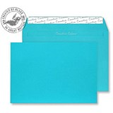 Image of Blake Plain Blue C4 Envelopes / Peel & Seal / 120gsm / Pack of 250