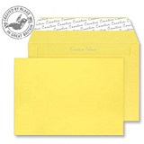 Blake Plain Yellow C4 Envelopes / Peel & Seal / 120gsm / Pack of 250