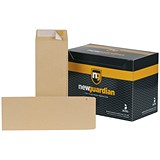 New Guardian Heavyweight Pocket Envelopes / 305x127mm / Manilla / Peel & Seal / 130gsm / Pack of 250