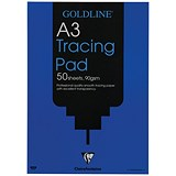 Image of Goldline Professional Tracing Pad / A3 / 90gsm / 50 Sheets