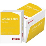 Image of Canon Yellow Label Multifunctional Paper / White / 80gsm / A4 / Box (5 x 500 Sheets)