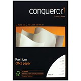 Image of Conqueror A4 Wove Finish Prestige Paper / Brilliant White / 100gsm / Ream (500 Sheets)