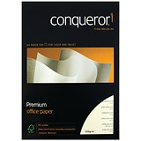 Image of Conqueror CX22 A4 Paper / Cream / 100gsm / Ream (500 Sheets)