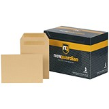 Image of New Guardian Heavyweight C5 Pocket Envelopes / Manilla / Press Seal / Pack of 250