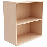 Image of Momento Desk-High Bookcase - Maple