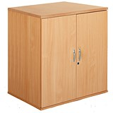 Image of Momento Desk-High Cupboard - Beech