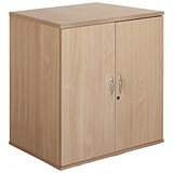 Image of Momento Desk-High Cupboard - Oak