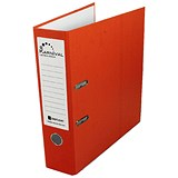 Rexel Karnival A4 Lever Arch Files / Orange / Pack of 10