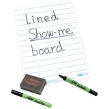 Image of Show-me Whiteboards / A4 / Lined / Pack of 35