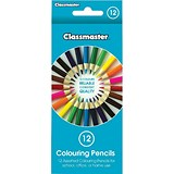 Image of Classmaster Colouring Pencils / Assorted / Pack of 12