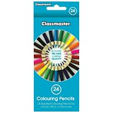 Image of Classmaster Colouring Pencils / Assorted / Pack of 24