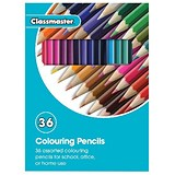 Image of Classmaster Colouring Pencils / Assorted / Pack of 36