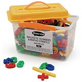 Show-me Magnetic Maths Symbols And Numbers - Tub of 286